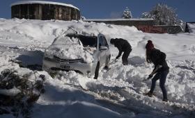Bariloche registró -25,4ºC, la más baja de su historia