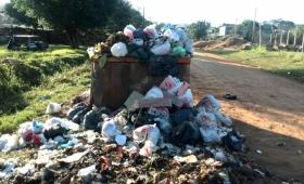 Recolección de residuos: retención de servicios en Base Zaimán