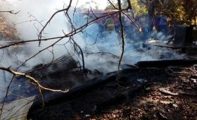 Hallan restos óseos en una vivienda incendiada