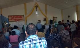 Festejo a pleno en la comunidad San Pantaleón