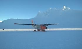 El marino rescatado en la Antártida se recupera en Ushuaia
