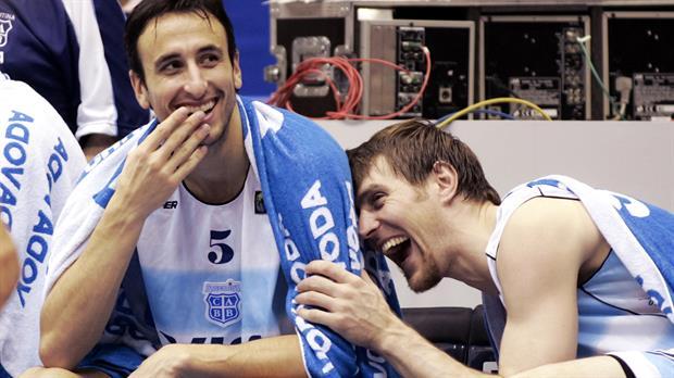 Retiran las camisetas de Ginóbili y Nocioni de la Selección — Homenaje Dorado