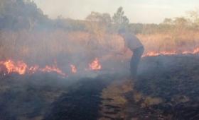 Vecinos extinguieron un incendio en Caá Yarí