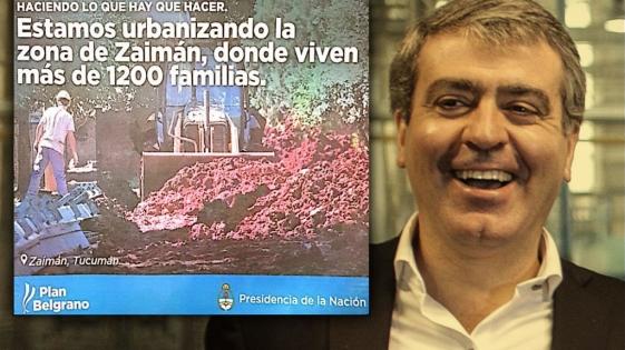 Histórico papelón de Cano: Promociona en Tucumán una obra de El Zaimán