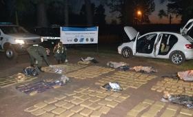 Secuestraron más de 348 kilos de marihuana en un automóvil en Eldorado