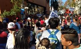 Así fue la protesta multisectorial