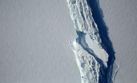 Se desprendió un iceberg 25 veces más grande que la Capital Federal