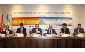 Autoridades argentinas presentan en España oportunidades en obras públicas
