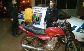Violento robo de motocicleta en Eldorado: un detenido