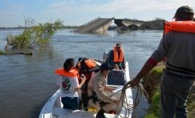 Arroyo Guazú: Por obras modifican el cruce fluvial en Esquina