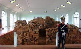 Inauguraron el templete de la casa natal de San Martín