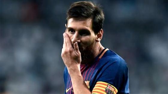 Messi, el artífice de la victoria del Barcelona