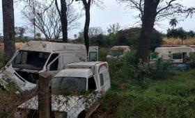 Villalba culpó a Nación por el mal estado de las ambulancias