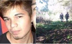 Intensa búsqueda de un joven desaparecido en Alem