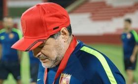 Sentido mensaje de Maradona por la muerte de Anahí Benítez