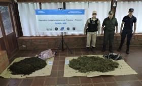 Marihuana sobre el agua: secuestraron más de 35 kilos en Puerto Rico