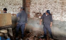 Corrientes: Presos hicieron un boquete e intentaron fugarse