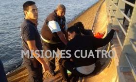 Rescataron a una joven de 17 años que se arrojó al río Paraná