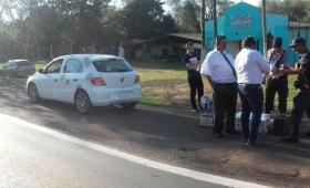 Contrabandistas detenidos en control policial
