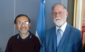 El presidente de la Sadem se reunió con el director de la Biblioteca Nacional