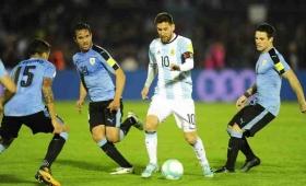 Argentina, Uruguay y un empate que les sirve a los dos