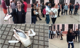 El Ballet del Centro del Conocimiento sin zapatillas, ni trajes