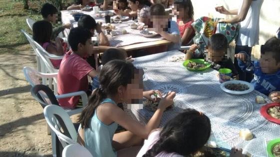 Benamor se tomó vacaciones y dejó sin comida a más de mil niños
