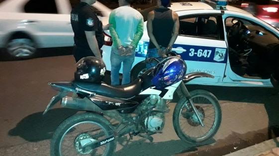 Secuestraron motocicletas de dudosa procedencia y detuvieron a sus ocupantes