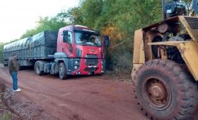 Interceptaron camiones sojeros que evadieron controles de Rentas