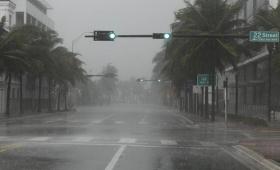 Irma llegó a Florida