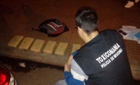 Secuestran una mochila con 7 kilos de droga cerca de la Placita