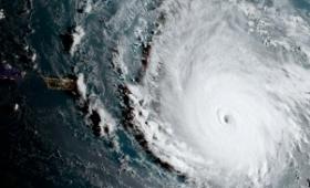 """Se debilitó el huracán """"Irma"""" y se acerca a la costa norte de Cuba"""