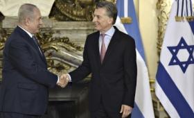 """La visita de Netanyahu es """"un gesto de confianza"""", dijo Macri"""