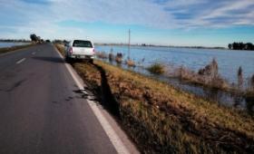 El agua sigue bajando en el norte de Buenos Aires