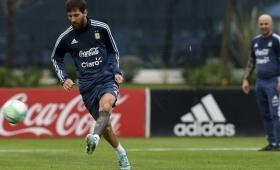 Messi integra la terna al mejor jugador de 2017