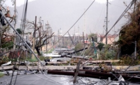 Buscan a una argentina en la isla Dominica tras el paso del huracán