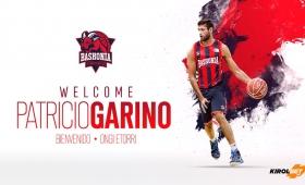 Garino, nuevo jugador del Baskonia de la ACB española