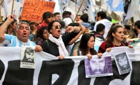 Marchas de reclamo a un mes de la desaparición de Maldonado