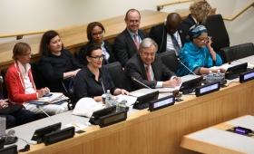 Michetti en la ONU: pidió un mundo integrado y economías con equidad