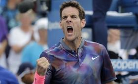 US Open: Del Potro venció al español Menéndez y está en tercera ronda