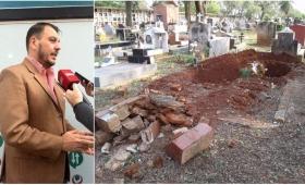 """Para Florentín, """"no se hacen exhumaciones forzadas"""" en Posadas"""