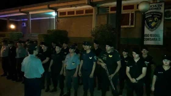 66 detenidos en la noche del viernes