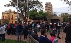 """La CCC protesta frente al IPRODHA: """"Los compañeros necesitan trabajar ya"""""""