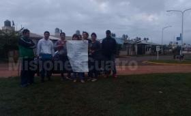 Tensión en Itaembé Guazú por protesta contra el monopolio Zbikoski