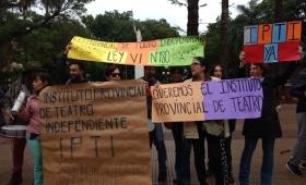 Reclaman la aplicación de la Ley Provincial del Teatro Independiente