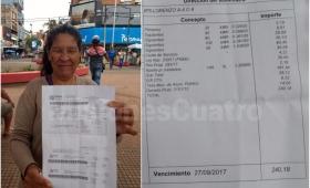 Tras enviar la boleta por 56 mil pesos, Emsa reconoció que hubo un error