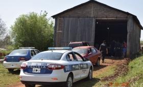 Allanaron galpón de acopio de narcos y contrabandistas