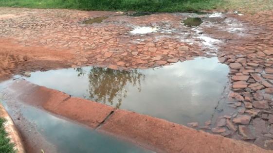 Contaminación ambiental por derrame de cloacas