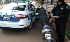 Roban diez motos por día en Posadas, Garupá y Candelaria