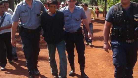Capturaron al aborigen que secuestró a sus sobrinos
